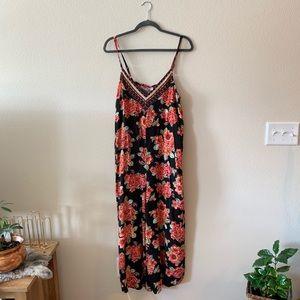 NWOT • floral tank jumper